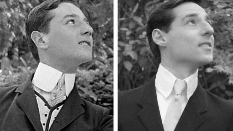 """Um homem encontrou seu """"gêmeo perdido"""" em uma foto de 115 anos atrás ?"""