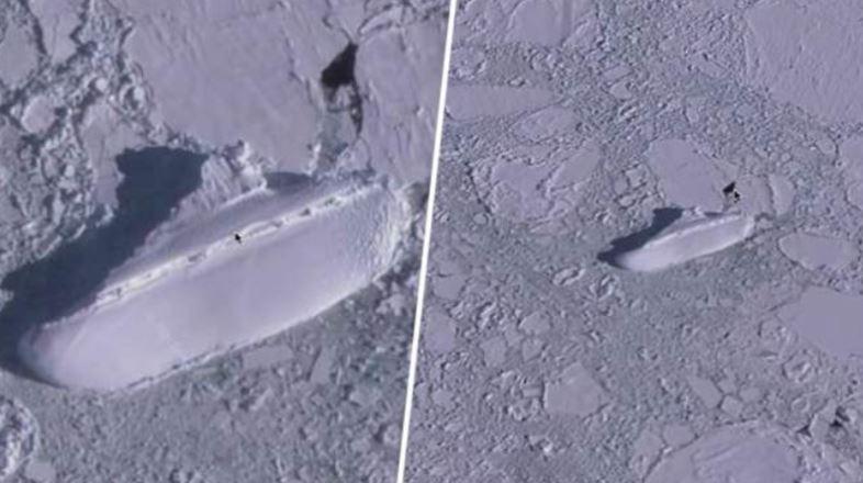 Arca De Noé Ou Navio Nazista ? Objeto Misterioso Descoberto Na Costa Da Antártica.
