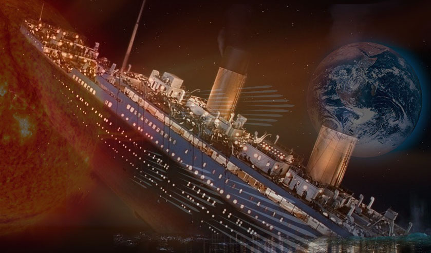 Uma explosão solar causou o desastre do Titanic?