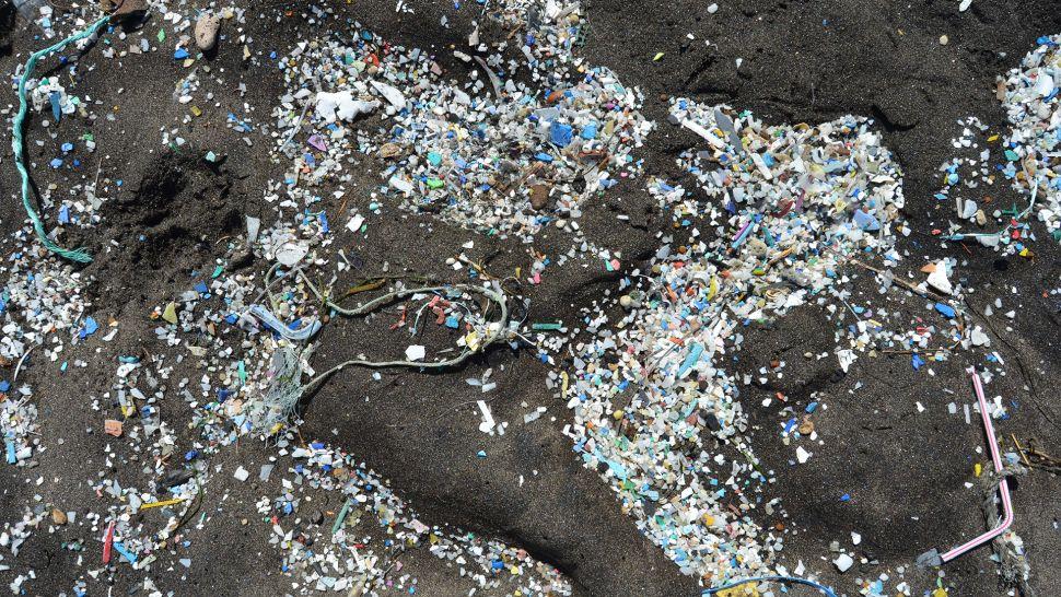 15 milhões de toneladas de microplásticos poluem o fundo do mar.