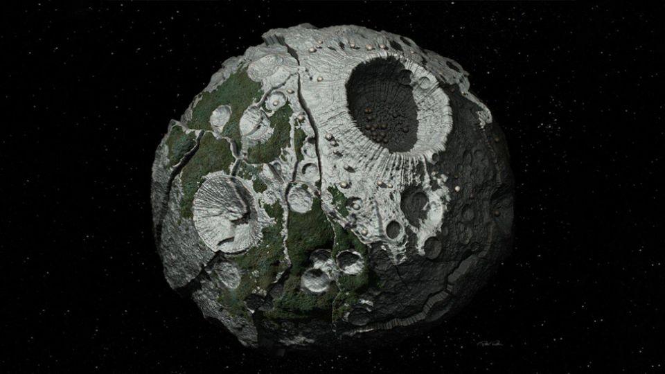 Um asteróide com riqueza suficiente para tornar todos na Terra bilionários.