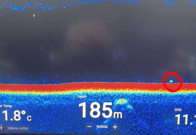 Sonar detecta outro objeto misterioso no Lago Ness.